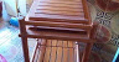 mesa em madeira foto 1